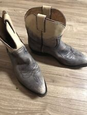 Vintage WOMENS FRYE COWBOY Ankle Ombre BOOTS SIZE 9B