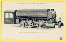 "cpa USA LOCOMOTIVE Mining Machine condenser ""Caswell Creek Coal & Coke Company"""