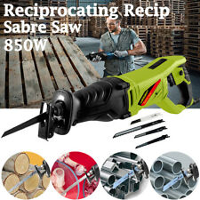850W Corded Reciprocating Recip Sabre Saw Electric Free Blades Variable Speed