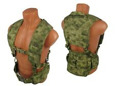 Russian Vest military army paintball tactical airsoft chest rig AK molle atacs f
