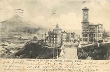 Vintage Postcard Gateway to the City Of Destiny Tacoma WA