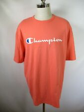 F3510 VTG Men's Champion Spell-Out Short Sleeve T-Shirt Size 2XL