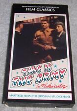 This Is the Army VHS Video Ronald Reagan Joe Louis Kate Smith Irving Berlin