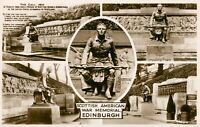 Scottish American War Memorial Edinburgh multiview (Valentine & Sons) 1930s USA