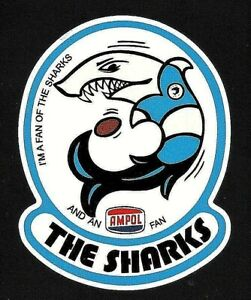 I'M A FAN OF THE SHARKS & AMPOL Vinyl Decal Sticker CRONULLA SUTHERLAND NRL