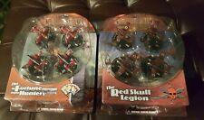 Crimson Skies Red Skull Legion & The Fortune Hunters Wizkids Miniatures Game NIB