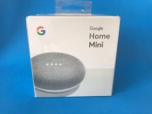 Google Home Mini Smart Speaker with Google Assistant NEW Chalk Sealed GA00210-US