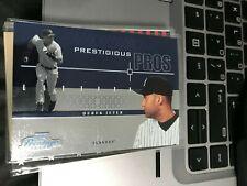 Derek Jeter  2004 Playoff Prestige Prestigious Pros #2 yankees! kc62