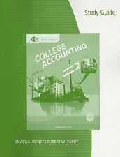 Study Guide with Working Papers, Chapter 1-9 for Heintz/Parrys College Accounti