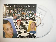 TOM NOVEMBRE : LA VIE DU RAIL ( BANDE DE PIONS ) ♦ CD SINGLE PORT GRATUIT ♦