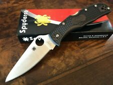 Spyderco Knife Endela  Black G10 Plain Edge VG-10 C243PBK