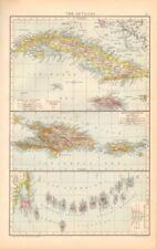Cuba Antique Central America/Caribbean Maps & Atlases