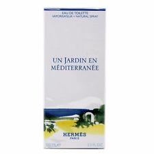 HERMES UN JARDIN EN MEDITERRANEE EAU DE TOILETTE NATURAL SPRAY 100ML NIB-712650