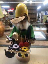"Vintage German Straco Germany wooden baker figure incense smoker / pipe 5"""