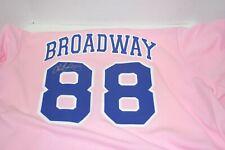 "Cancer Las Vegas 51 Button Front Pink Baseball Jersey  MEN SIGNED  ""BROADWAY"""