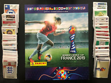 Panini Women's World Cup France 2019 Complete Set