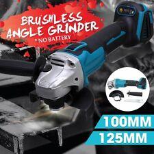 Cordless Angle Grinder Host Polishing Cutting Machine with Digital Display 125mm