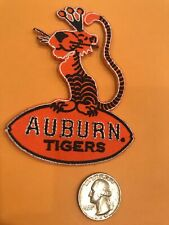 """Auburn Tigers """"War Eagle"""" Vintage Embroidered Iron On Patch NOS  3"""""""