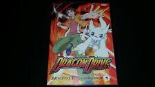 DRAGON DRIVE VOL 1 AMAZING TRANSFORMATION DVD 2004 4 EPISODES VIDEO DISC ANIME