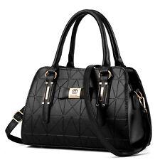 Damen Handtasche Bag Umhängetasche Trage Tasche Schwarz Schultertasche Mode Neu