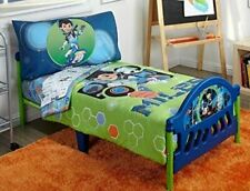 Disney 4 Piece Toddler Bedding Set, Miles From Tomorrow Land