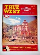 TRUE WEST #136 August 1976  Hollywood Posse/Hotel de Paris/Wyoming/Jim Bullard