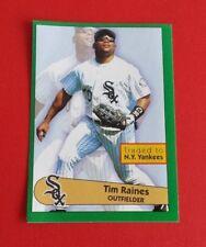 1996 Panini Baseball Tim Raines Sticker #174***Chicago White Sox***