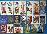Stunning Collection of 21 Amy Brown Fairies Art Postcards, Brand New Old Stock