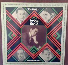 Compilation Album - The Song Is Irving Berlin 1989 UK Living Era AJA 5068 LP