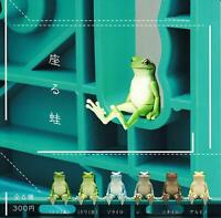 Kitan Club sit frog Gashapon 6 set mini figure capsule toys