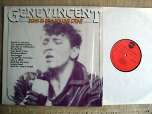 Gene Vincent - Born to be a rolling stone   LP   33 giri