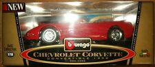 Bburago Gold Collection 1998 Chevrolet Corvette Convertible 1:18