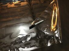 """Clear Vinyl 30 Gauge Marine Isinglass Double Polished Auto Boat 54"""" By The Yard"""