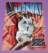 ANFERNEE HARDAWAY ORLANDO MAGIC Z FORCE SKYBOX 1996 NBA BASKETBALL CARD