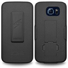 Amzer Shellster Case - Black - Galaxy S6