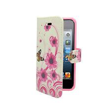 Multicoloured Mobile Phone Wallet Case for Apple