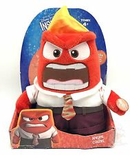 Inside Out Talking Soft Plush Anger 9 In Doll with Sound Disney Pixar New
