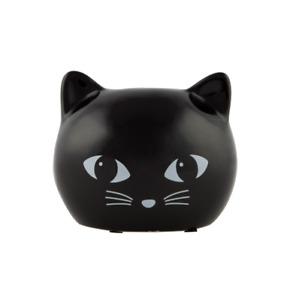 Black Cat Ceramic Money Box Piggy Bank Cute Kitten Home Decor Kids Retro Girly