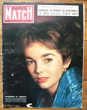 PARIS MATCH 275 ,  24 HEURS DU MANS JUILLET 1954 GEO HAM