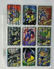 1990's Marvel Universe Vending Machine Foil Prism Stickers 15 sticker set