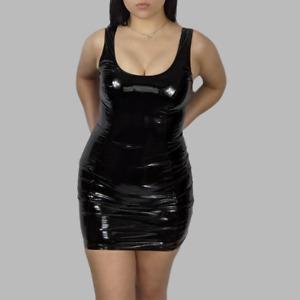 LATEX BODYCON DRESS