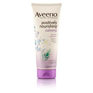 Aveeno® Positively Nourishing Lavender And Chamomile Calming Body Lotion 198G