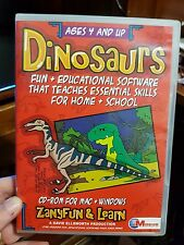 Dinosaurs Teaches Skills For Home and School - PC GAME - FREE POST
