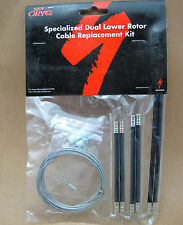- New - Specialized Dual Lower Rotor Cable Replacement Kit