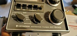 KENWOOD AT 200 ANTENNA TUNER FOR TS 820S 520S