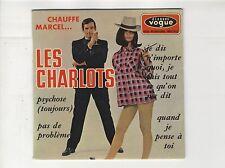 45 tours EP Les Charlots Psychose Pas de problème 1966 EXC+
