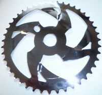 """STEEL /""""CHROME/"""" 36 TOOTH BMX BICYCLE CHAIN RING PARTS 709"""