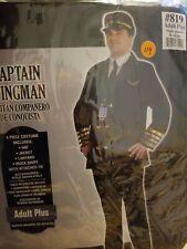 Airline Captain  Halloween Costume for Men, Plus Size #114