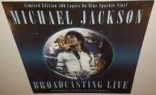 MICHAEL JACKSON BROADCASTING LIVE BRAND NEW SEALED LIMITED EDITION VINYL LP
