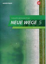 Mathematik Neue Wege SI 5. Arbeitsheft mit Lösungen. G9. NRW, Schleswig-Holstein